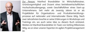 Manfred Brandstätter Autor von Scribble - Agiles Prozessmanagement